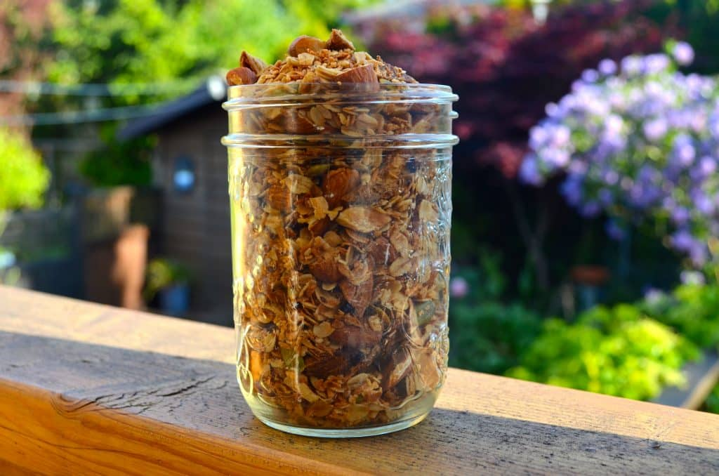 Pineapple Coconut Granola