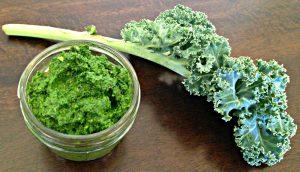 Kale & Almond Pesto