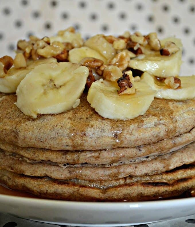 Healthier Vegan Spelt Pancakes. No eggs, no dairy. You can be vegan and eat pancakes!