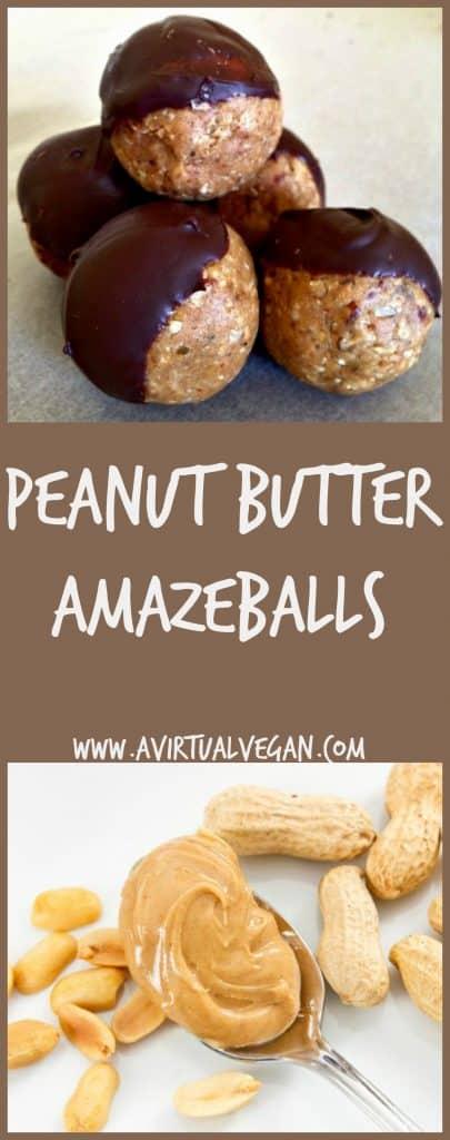 peanut butter amazeballs