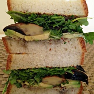 Portobello & Avocado Sandwich