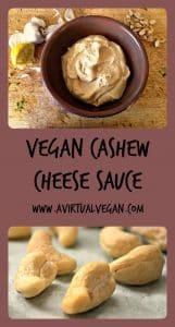 Vegan Cashew Cheese Sauce