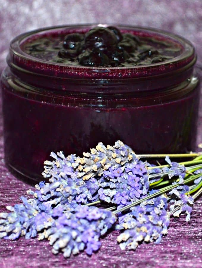 This deep purple Blueberry Lavender Sauce has a sweet, floral aroma & unmistakable herbal undertones of lavender. Perfect with pancakes,waffles or oatmeal.