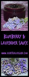 Blueberry & Lavender Sauce