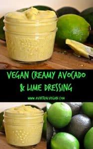 Creamy Avocado & Lime Dressing