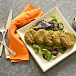 Delicious and healthy Sweet Potato Falafel with Walnuts. Baked not fried, perfectly moist and full of flavour.
