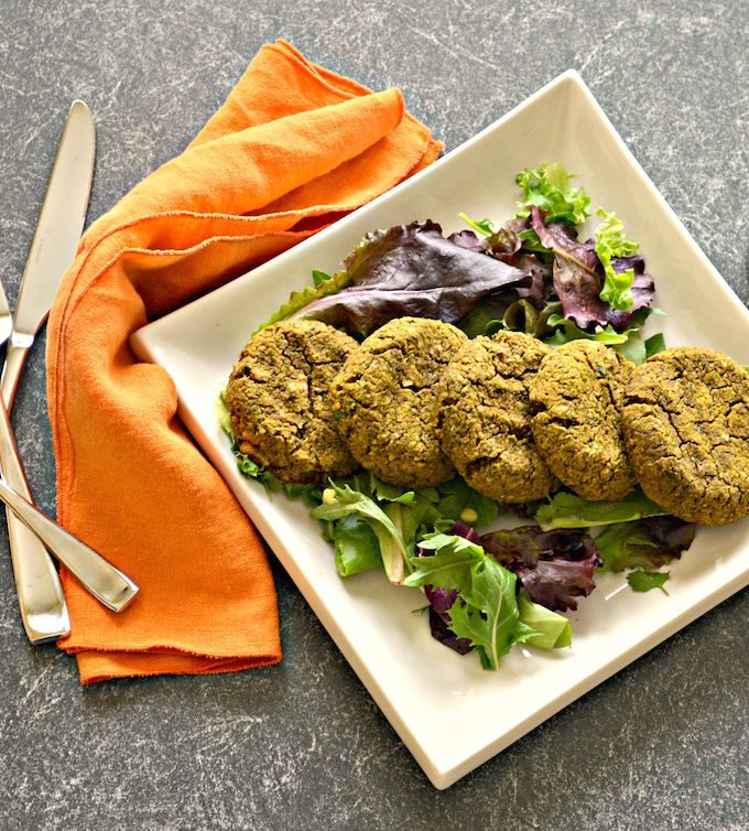 Sweet Potato Falafel with Walnuts