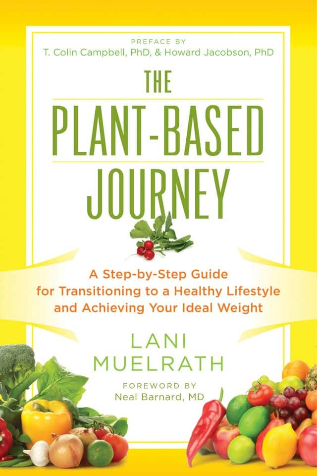 Cover shot of The Plant-Based Journey by Lani Muelrath