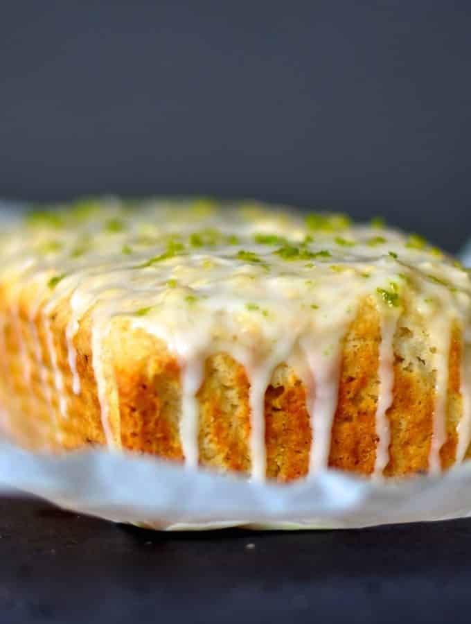 Lime & Coconut Cake
