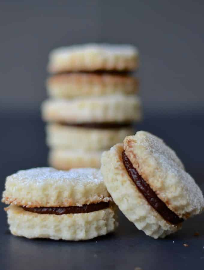 Chocolate Coconut Cream Cookies