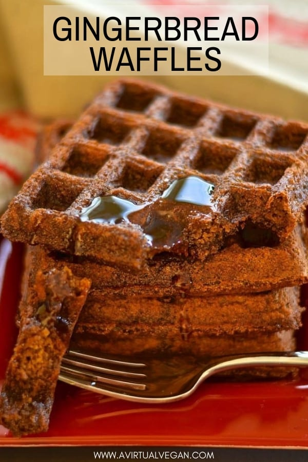 Add some sugar & spice to your life with these deliciously dark, rich & fluffy Gingerbread Waffles. Full of warm & comforting gingerbread flavour & surprisingly healthy!