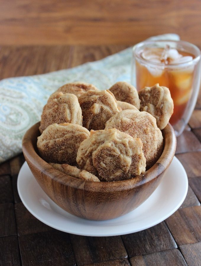 Cinnamon Maple Cookies