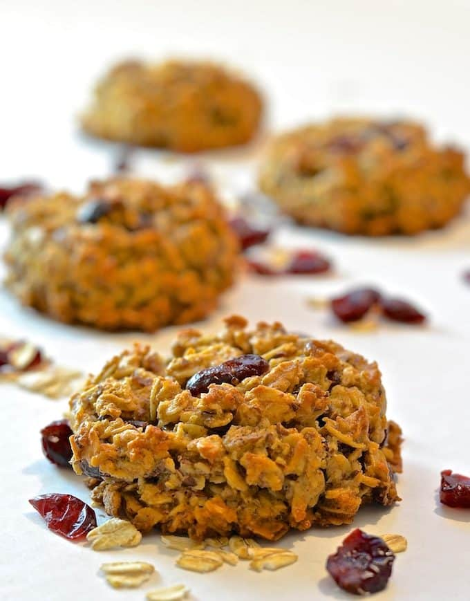 Cranberry & Coconut Breakfast Cookies