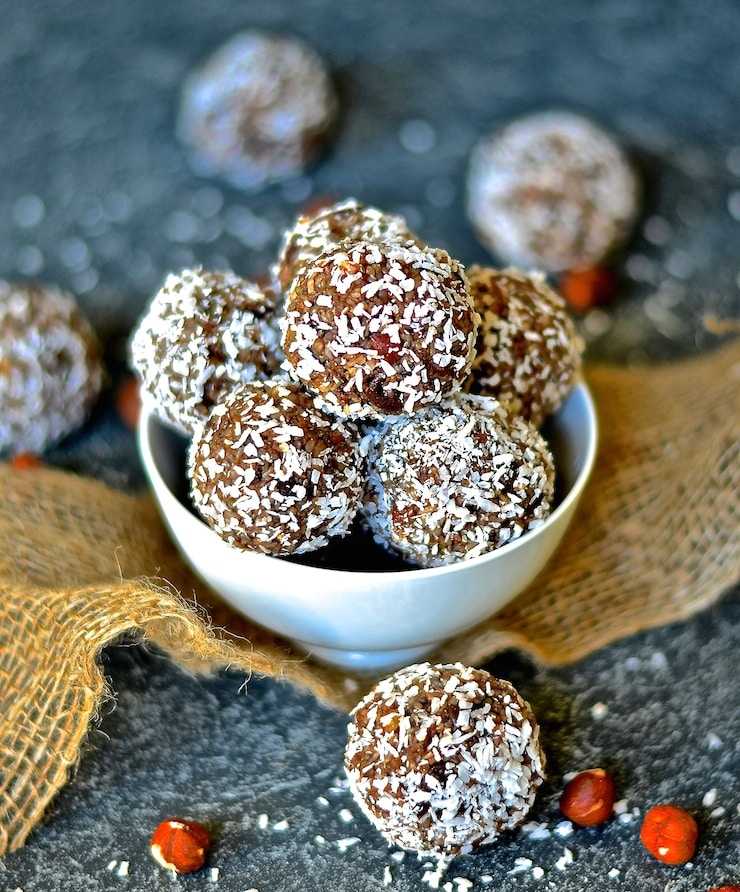 Mocha-Hazelnut Truffles Recipes — Dishmaps