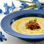 Don't be fooled by this Cauliflower Horseradish soup's deliciously creamy texture. It is actually extremely low in calories & has less than 2 grams of fat per serving. It's also ready in under 20 minutes!