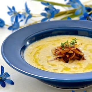 Creamy Cauliflower Horseradish Soup