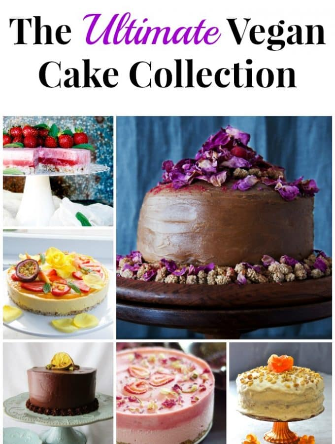 The Ultimate Vegan Cake Collection