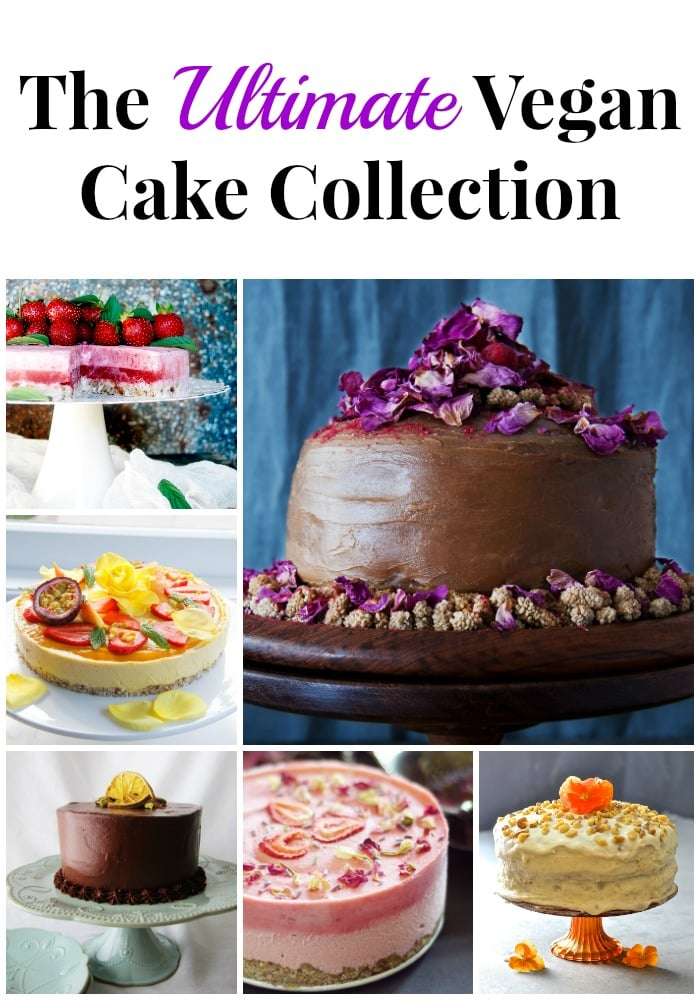 If you love cake then drop everything & check this out because I have collaborated with some of the best plant-based bloggers there are to bring you the ultimate vegan cake collection!