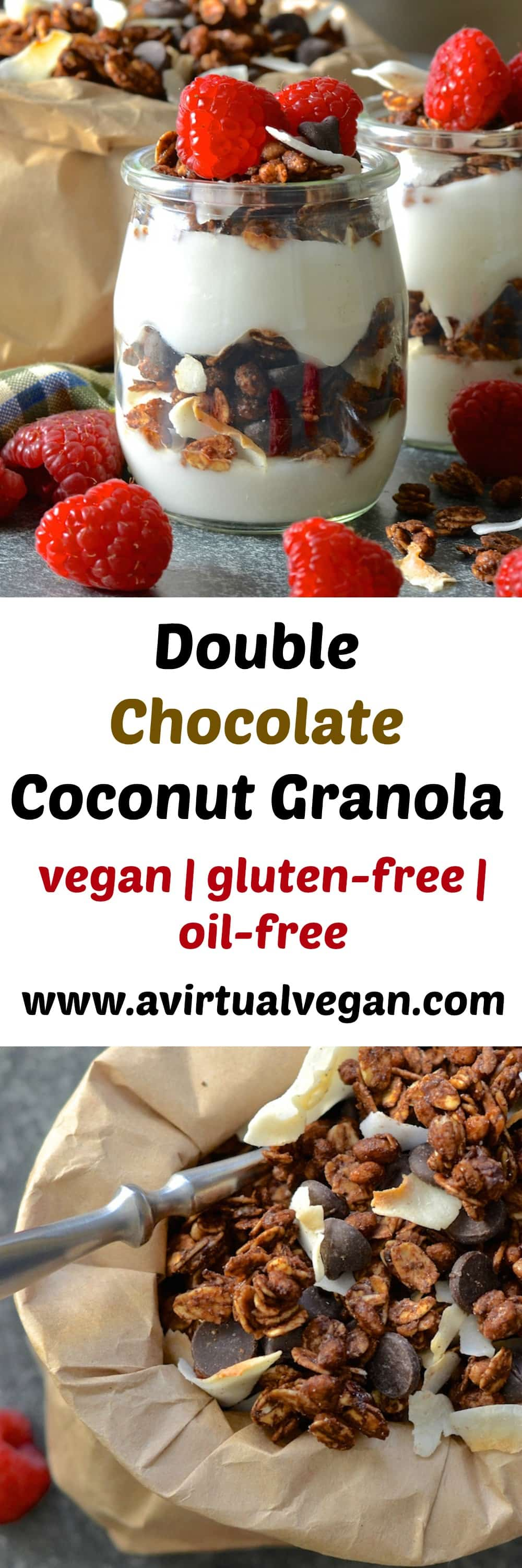 This is the ultimate double chocolate coconut granola recipe. Crunchy, chewy, chocolatey, coconutty, not too sweet, slightly salty…..Flippin' gorgeous!