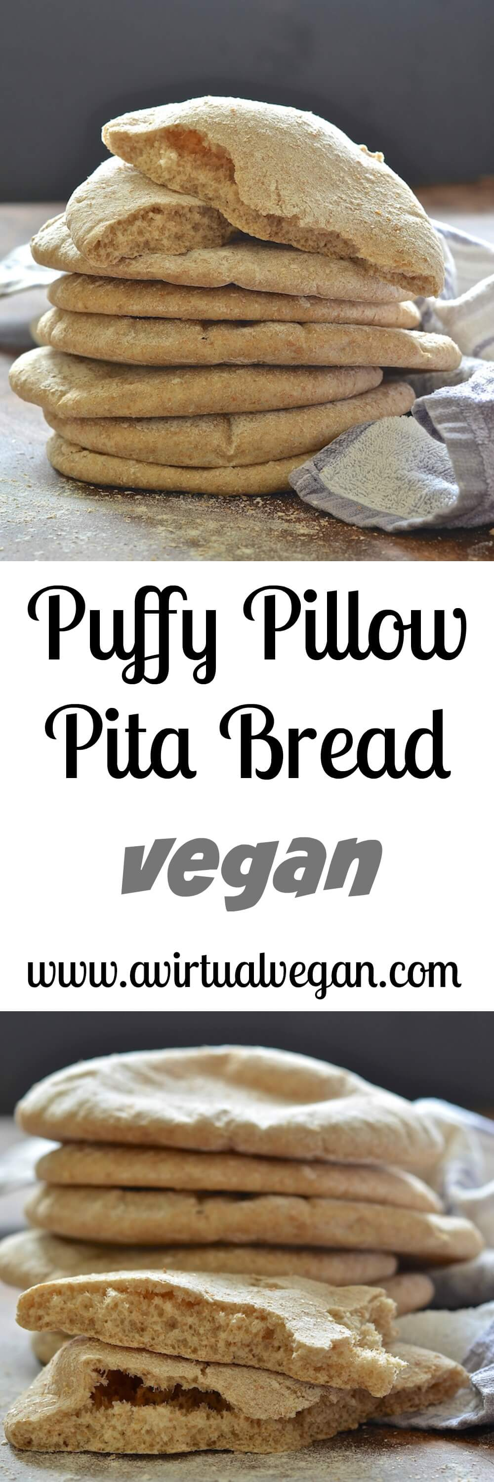quick easy homemade pita bread a virtual vegan