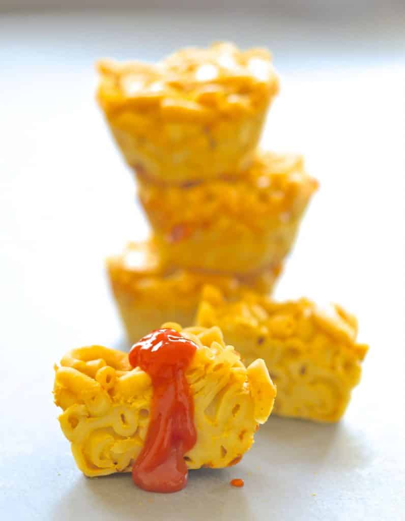 A twist on an old favourite. These Vegan Mac and Cheese Bites are perfect for after school snacking or packed lunches and are incredibly quick & easy to make!