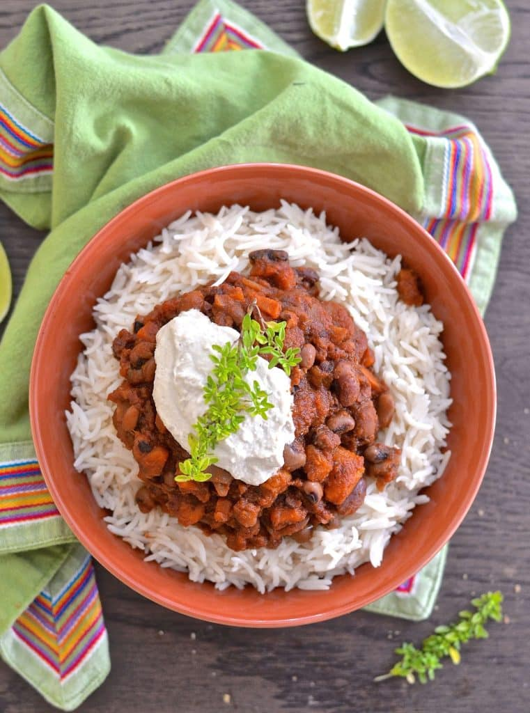 This Three Bean Sweet Potato Chili makes the perfect family meal. Minimal effort, maximum flavour & budget friendly. Plus you'll have plenty of leftovers for another day!
