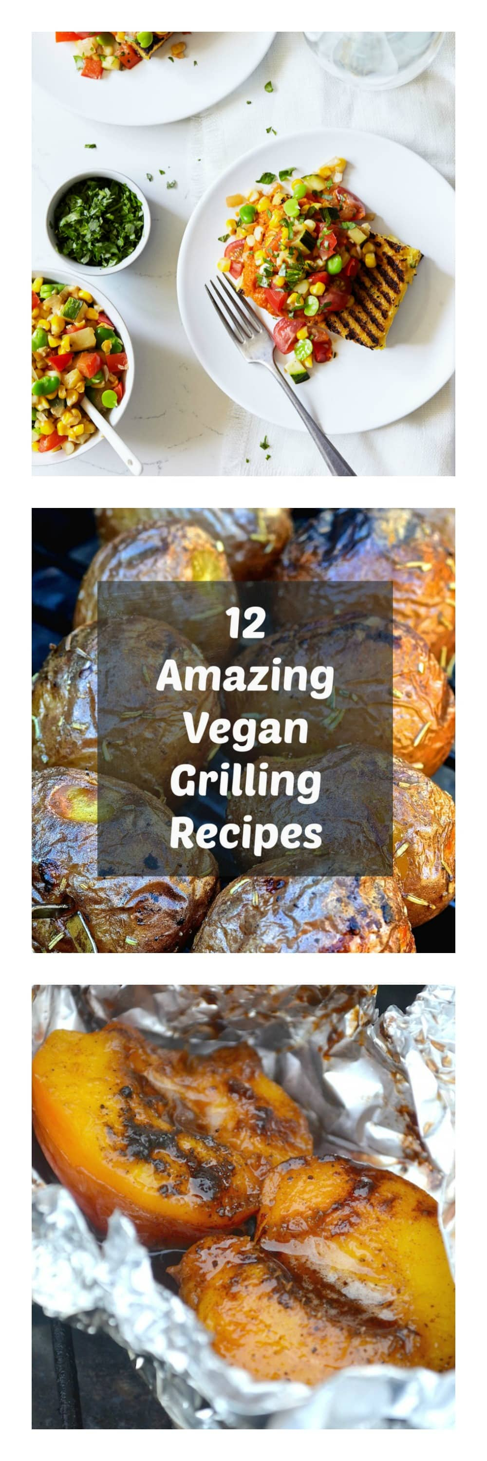 It's summer, the weather is great and grills are being fired up all over. Just because you are vegan does not mean you have to miss out on outdoor grilling, and I have rounded up a collection of 12 amazing vegan grilling recipes to inspire you. There is something for everyone in this collection and there is no way that anyone will think you are 'missing out' when your plate is filled with this wonderful, healthy plant-based food!