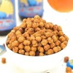 Cheese & onion Crispy Roasted Chickpeas in a bowl