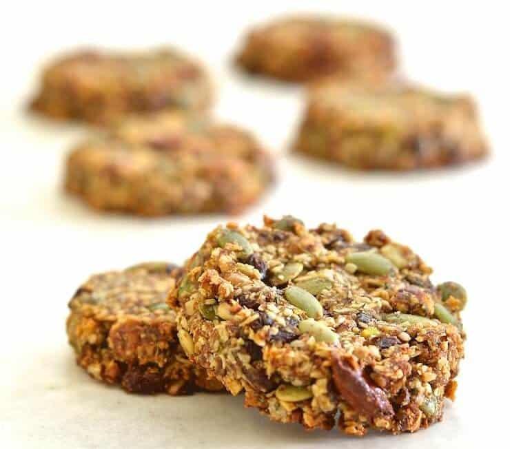Super Seedy Power Cookies - Vegan, Paleo & Grain Free- A ...