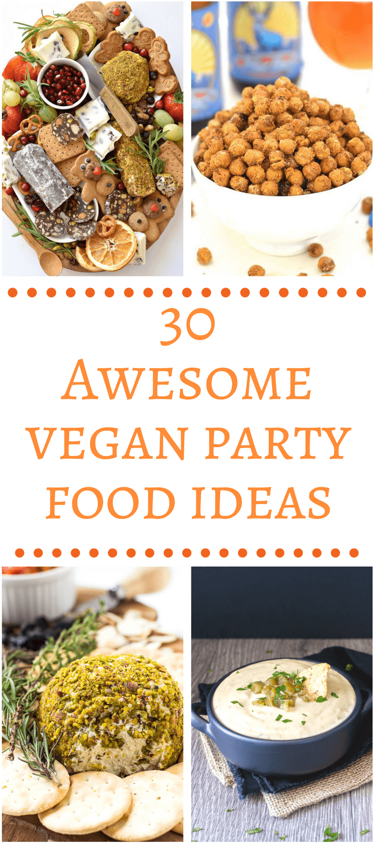 Create an awesome spread and wow your guests with these amazing vegan party food ideas!