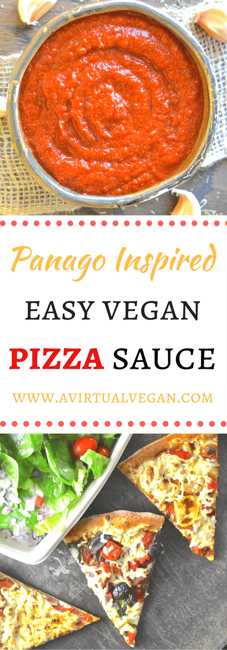 A hearty & rich vegan pizza sauce with an intense full flavour