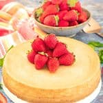 This ultra-rich, decadently creamy and smooth Vegan New York Cheesecake is surprisingly quick and easy to make. Enjoy as it is or get a little fancy with your choice of topping. It is dessert perfection and you absolutely need it in your life…..