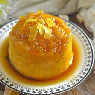 Easy Maple Ginger Steamed Pudding