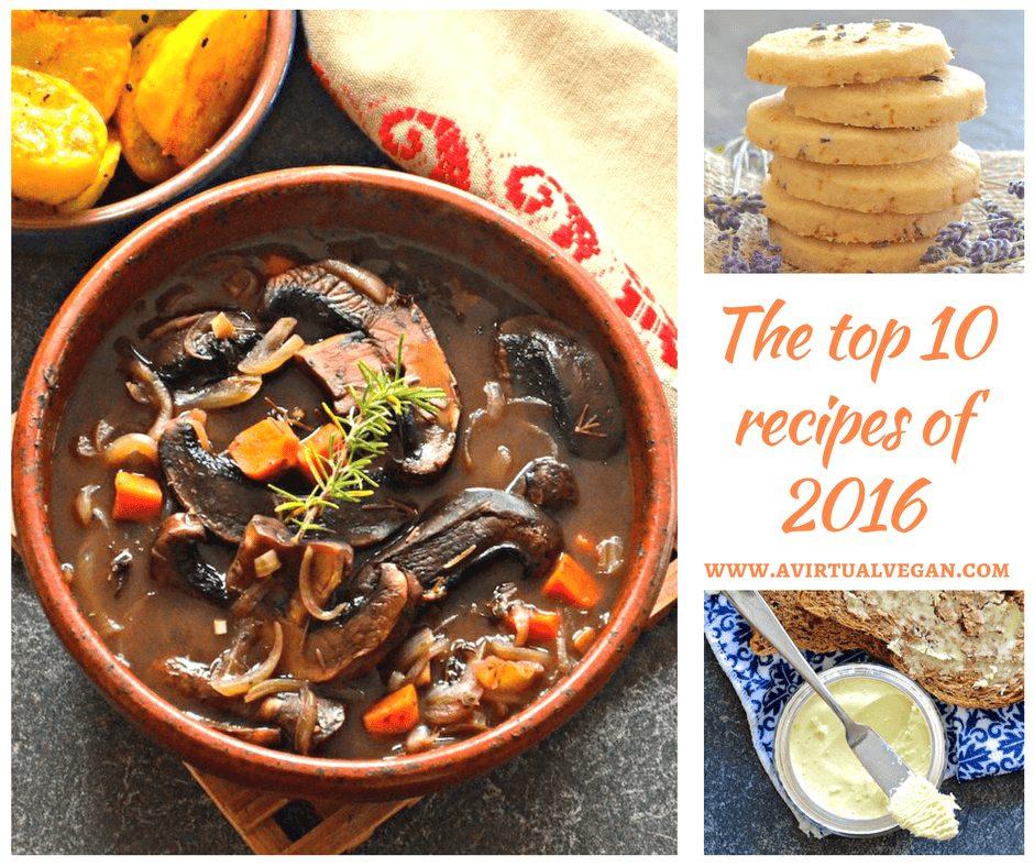 The Top 10 Vegan Recipes Of 2016