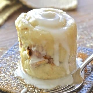 Cinnamon Roll in a Mug