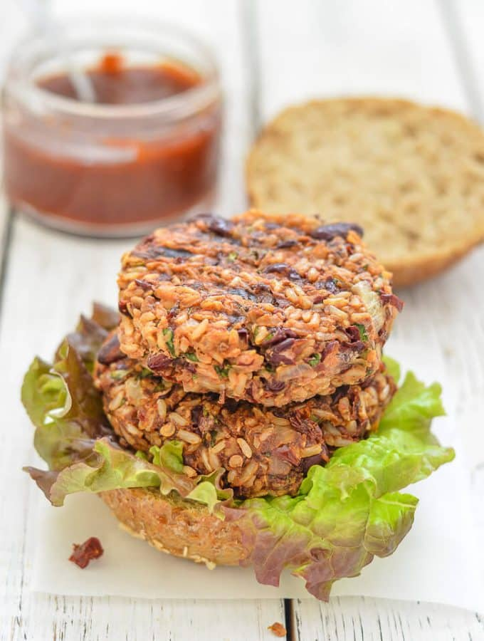 Mexican Burgers with Adobo Sauce