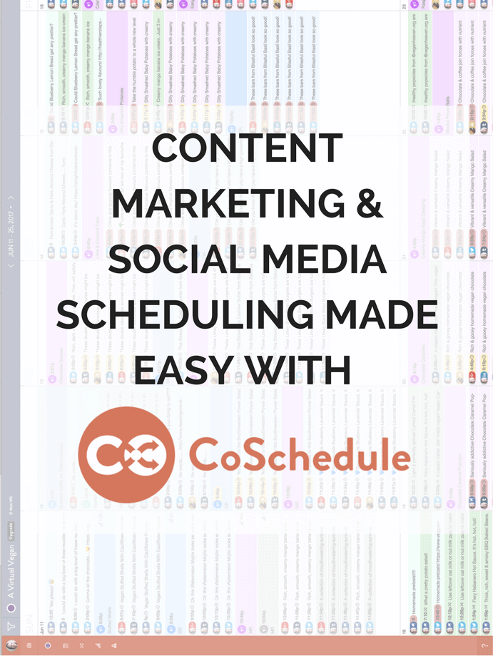 A Blogger's Guide To The CoSchedule Editorial Calendar