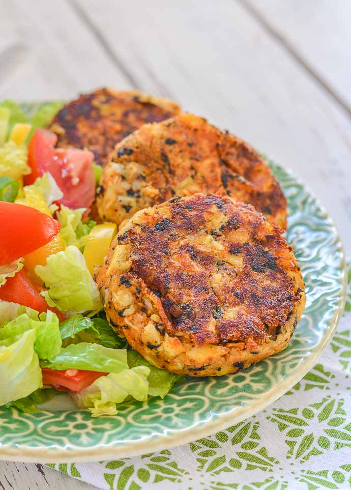 Thai Style Vegan Crab Cakes Gluten Free A Virtual Vegan