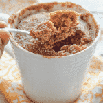 Have dessert ready in minutes with my super quick & easy Snickerdoodle Mug Cake. It's soft, fluffy & cinnamon-y & perfect for when you want something sweet without making a full-blown dessert!