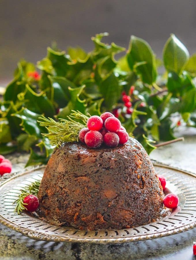 The Ultimate Vegan Christmas Pudding