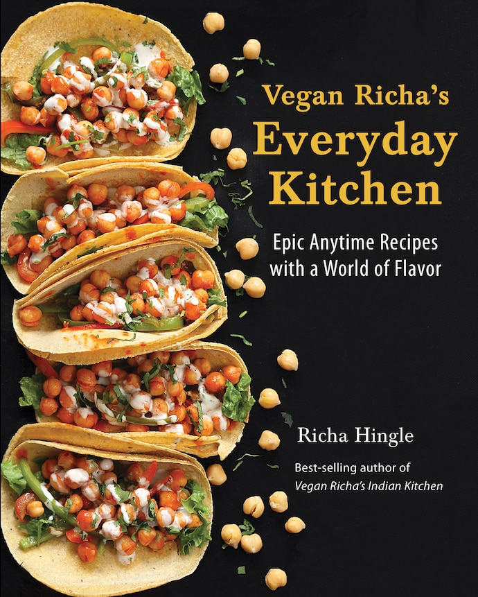 Front cover of Vegan Richa's Everyday Kitchen