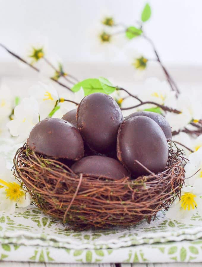 Vegan Caramel Eggs