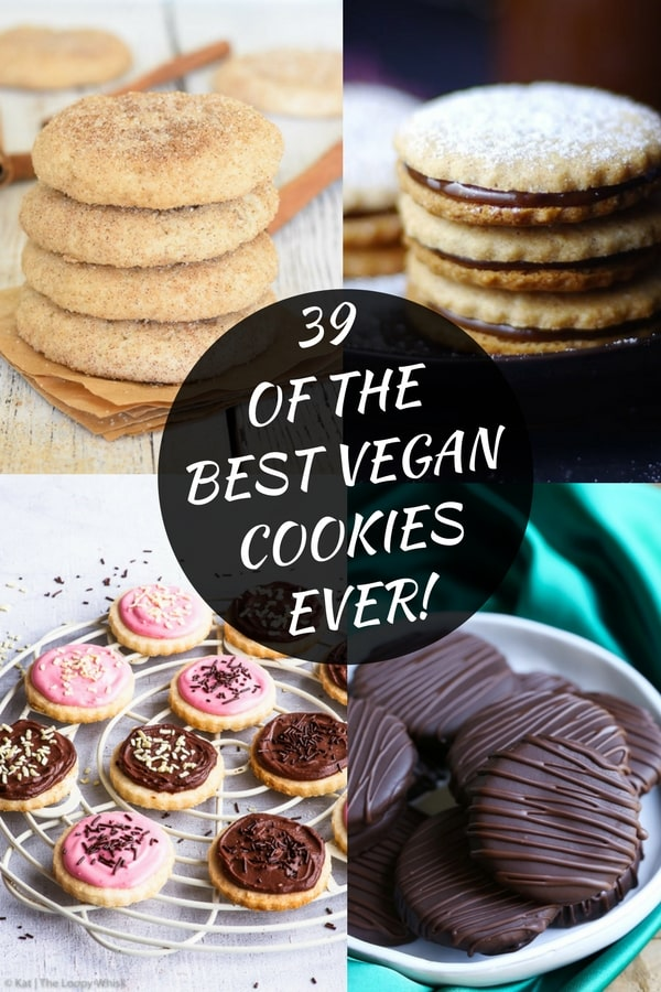 39 Of The Best Vegan Cookie Recipes!
