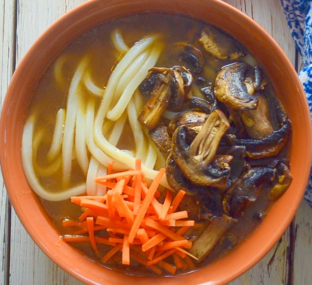 Udon Noodle Soup - Easy, healthy, light & refreshing - A