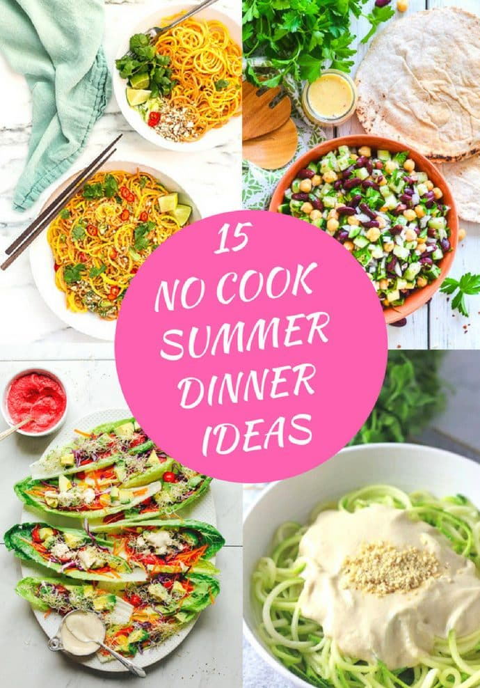 15 no cook summer dinner ideas a virtual vegan