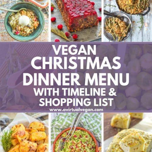 Very Vegan Christmas Fb Cover 2020 Vegan Christmas Dinner Menu, Shopping List & Timeline   A Virtual