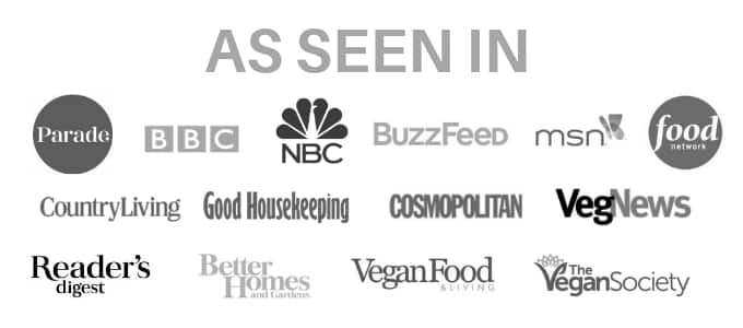 logos of media outlets A Virtual Vegan has been featured in