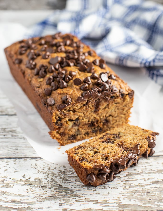 Chocolate Nut Best Vegan Banana Bread