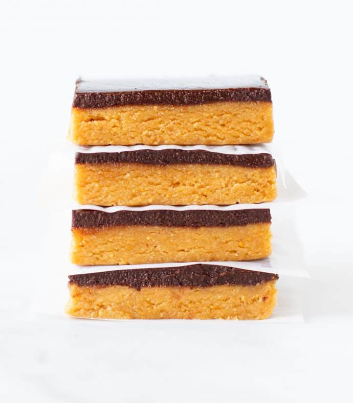 Easy No Bake Peanut Butter Squares - Exclusive recipe bundle - Vegan Comfort Cooking - A Virtual Vegan - Melanie McDonald