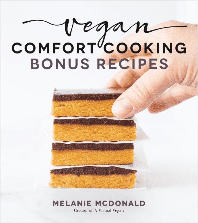 Vegan Comfort Cooking exclusive recipe bundle